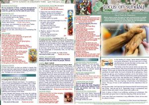 Mass Leaflet